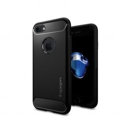 Kryt na iPhone SE / 7 / 8 Spigen Rugged Armor - černý
