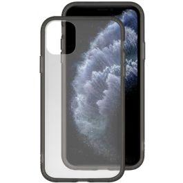Průhledný obal pro iPhone 11 Pro Max EPICO GLASS CASE 2019  - transparentní/černý