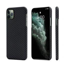 Kryt na iPhone 11 Pro Pitaka Aramid case - černý