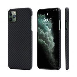 Kryt na iPhone 11 Pro Max Pitaka Aramid case - černý