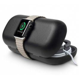 Cestovní nabíječka a stojan pro Apple Watch TwelveSouth TimePorter černá