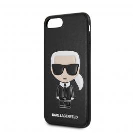 Karl Lagerfeld Ikonik kryt pro iPhone 7/8 Plus - černý