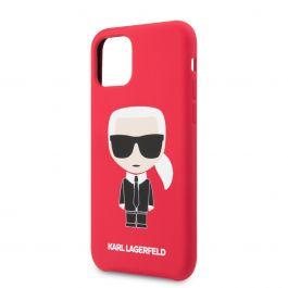 Karl Lagerfeld Iconic Body kryt pro iPhone 11 Pro - červený
