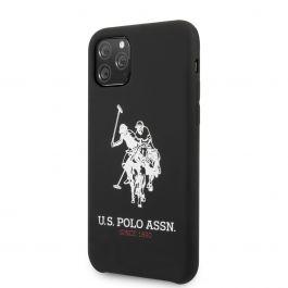 U.S. Polo Big Horse silikonový kryt pro iPhone 11 Pro Max - černý