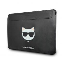 Kožené pouzdro pro MacBook Air/Pro Karl Lagerfeld Leather Choupette Sleeve