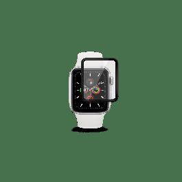 Ochranné sklo pro Apple Watch Series 4/5/6/SE 40mm EPICO 3D + FLEXI GLASS - černé