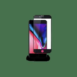 Ochranné sklo na iPhone SE 2020 iStyle 3D+ GLASS - černé