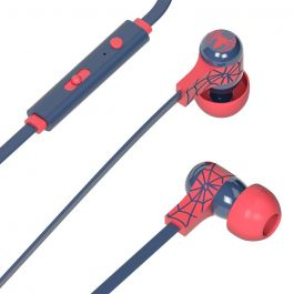 Tribe Marvel Spiderman Earphones - Blue