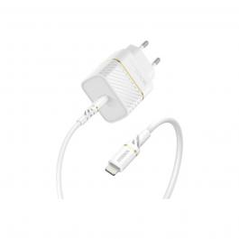 Nabíjecí set Otterbox Wall Charger USB-C 18W s kabelem Lightning - bílý