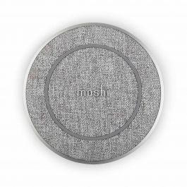 Bezdrátová nabíječka Moshi Otto Q  alpská šedá