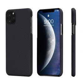 Kryt na iPhone 11 Pro Max  Pitaka Air Case - Černý