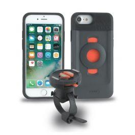 TigraSport FitClic Neo Bike Kit sada ochranného krytu a držáku pro iPhone 6s/7/8/SE 2020 - černá