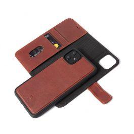 Kožené pouzdro na iPhone 11 Pro Decoded - hnědé