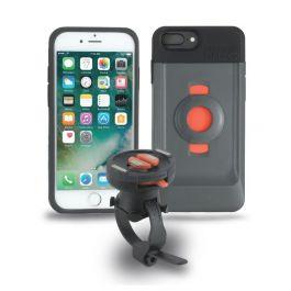 TigraSport FitClic Neo Bike Kit sada ochranného krytu a držáku pro iPhone 6s Plus / 7 Plus / 8 Plus - černá