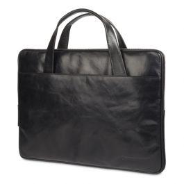 """Kožená taška dBramante 1928 Silkeborg pro MacBook 15"""" - černá"""