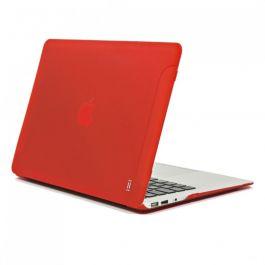"Obal na Macbook Air 13"" Aiino Matte - červený"