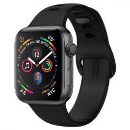 Silikonový řemínek pro Apple Watch 44/42mm Spigen Air Fit - černý