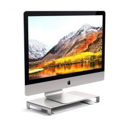 Stojánek pod monitor nebo iMac Satechi - stříbrný