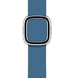 Apple Watch řemínek 40mm s moderní přezkou modrošedý velký