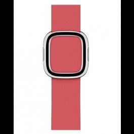 Apple Watch řemínek 40mm s moderní přezkou pivoňkově růžový velký