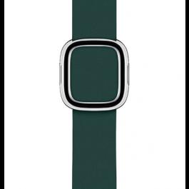 Apple Watch řemínek 40mm s moderní přezkou piniově zelený střední