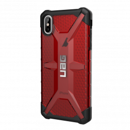 Kryt na iPhone XS Max UAG Plasma - červený