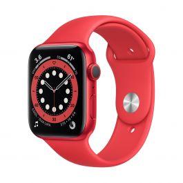 Apple Watch Series 6 GPS, 40mm PRODUCT(RED) pouzdro s PRODUCT(RED) Sport řemínkem