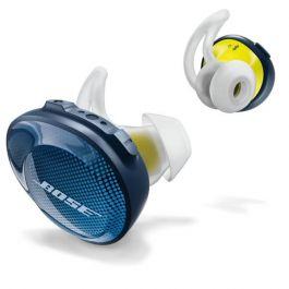 Bose SoundSport Free - půlnočně modrý/citrónový