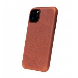 Kry na iPhone 11 Pro Decoded Leather Backcover - hnědý