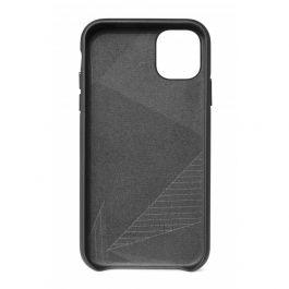 Obal na iPhone 11 Decoded Backcover kožený - černý