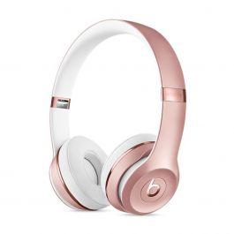 Bezdrátová sluchátka Beats Solo3 Wireless růžovo zlatá