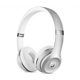 Bezdrátová sluchátka Beats Solo3 Wireless leskle stříbrná