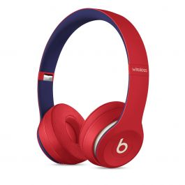 Sluchátka Beats Solo3 Wireless – Beats Club Collection – Club červená
