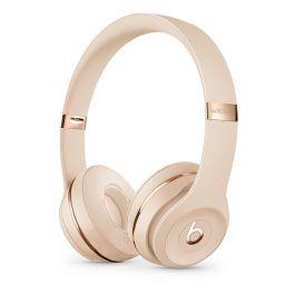 Bezdrátová sluchátka Beats Solo3 Wireless matně zlatá