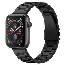 Kovový řemínek pro Apple Watch 44/42mm Spigen Modern Fit - černý