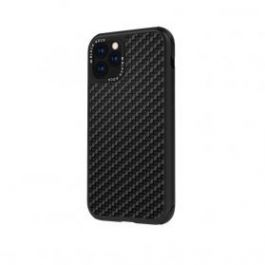 Black Rock Robust Case Real Carbon iPhone 11 Pro - černý