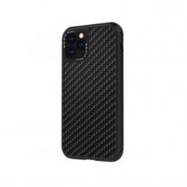 Black Rock Robust Case Real Carbon iPhone 11 Pro Max - černý