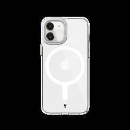 iStyle Magnetický Obal Hero pro iPhone 12 mini - transparentní