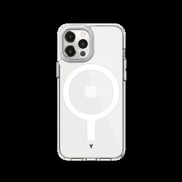 iStyle Magnetický Obal Hero pro iPhone 12 a 12 Pro - transparentní