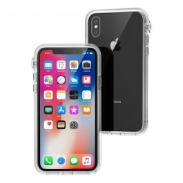 Kryt na iPhone Xs Catalyst Impact Protection Case - průhledný