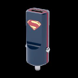 Adaptér do auta Tribe DC Movie Superman USB