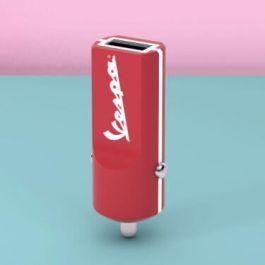 Adaptér do auta Tribe Vespa USB - červená