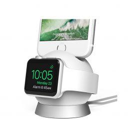Nabíječka iOttie OmniBolt Apple Watch & iPhone stříbrná