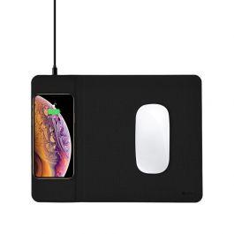 Bezdrátová nabíjecí podložka pod myš COTEetCI - černá