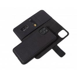 Obal na iPhone 11 Pro Decoded Leather Wallet, kožený - černý