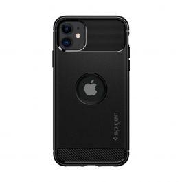 Kryt na iPhone 11 Spigen Rugged Armor - černý