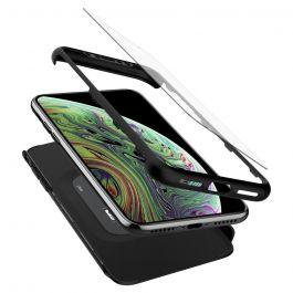 Kryt na iPhone XR Spigen Thin Fit 360 - černý