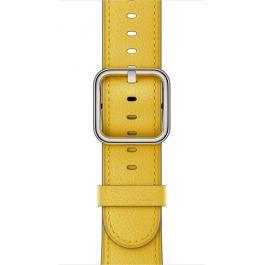 Apple Watch řemínek 38mm s klasickou přezkou jarně žlutý