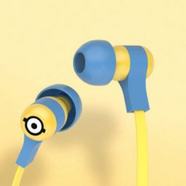 Tribe Minions Swing Earphones (Carl) - Blue
