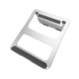 Hliníkový stojánek FIXED Frame BOOK - stříbrný